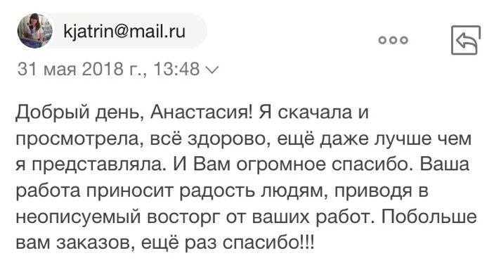 Видео поздравление Новости для мужчины отзыв