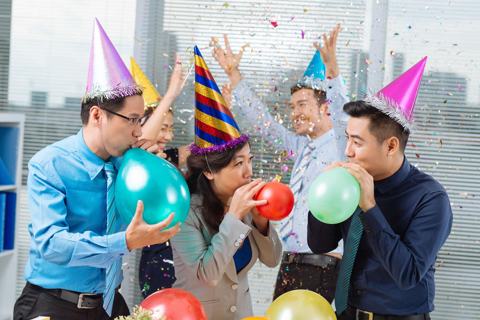 Поздравления коллегам днем рождения фирмы